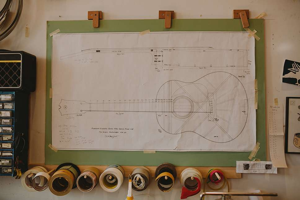 Flip Scipio | Guitar Maker And Repairman - electronics store  | Photo 9 of 10 | Address: 2 Grove St #4, New York, NY 10014, USA | Phone: (516) 426-5624