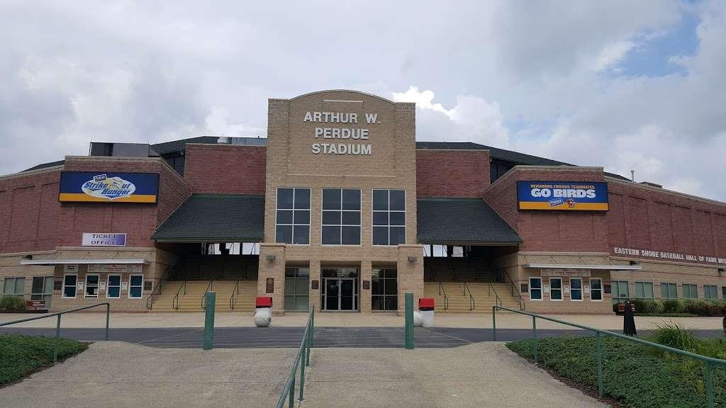 Perdue Stadium - stadium  | Photo 3 of 8 | Address: 6400 Hobbs Rd, Salisbury, MD 21804, USA | Phone: (410) 219-3112