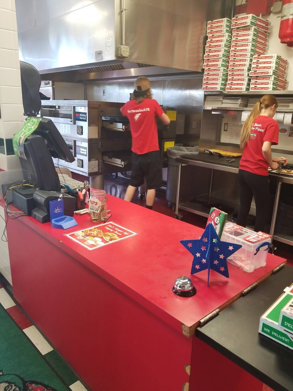 Jets Pizza - meal delivery  | Photo 6 of 10 | Address: 5825 Maplecrest Rd, Fort Wayne, IN 46835, USA | Phone: (260) 485-8550