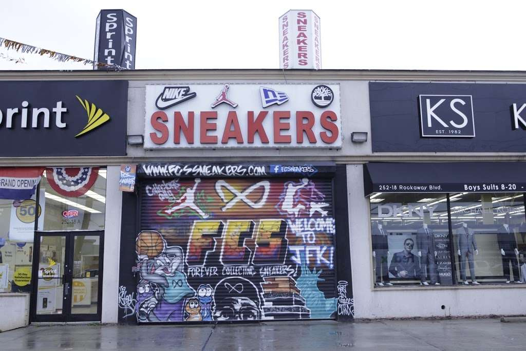 FCS SNEAKERS - clothing store  | Photo 6 of 10 | Address: 252-18 Rockaway Blvd, Rosedale, NY 11422, USA | Phone: (718) 470-2055