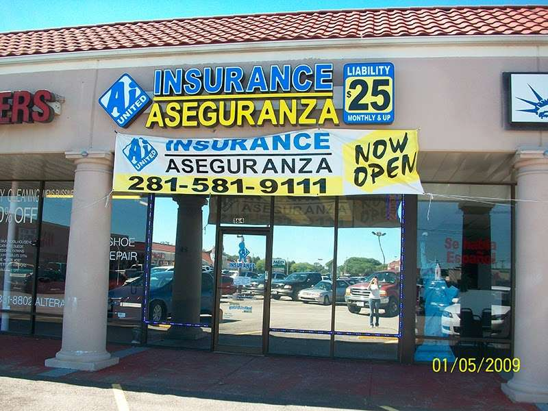 A i United Insurance Aseguranza - insurance agency    Photo 1 of 4   Address: 2625 S Loop Hwy 35 Suite 164, Alvin, TX 77511, USA   Phone: (281) 581-9111