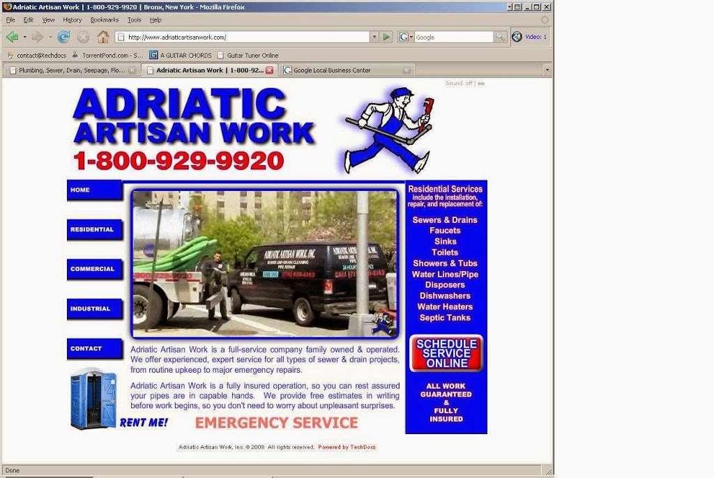 Adriatic Artisan Work - plumber  | Photo 1 of 1 | Address: 907 Pierce Ave, The Bronx, NY 10462, USA | Phone: (718) 828-6143