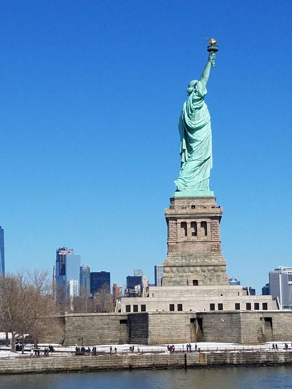 Liberty Island Ferry - transit station  | Photo 2 of 10 | Address: 1 Audrey Zapp Dr, Jersey City, NJ 07305, USA | Phone: (201) 604-2800