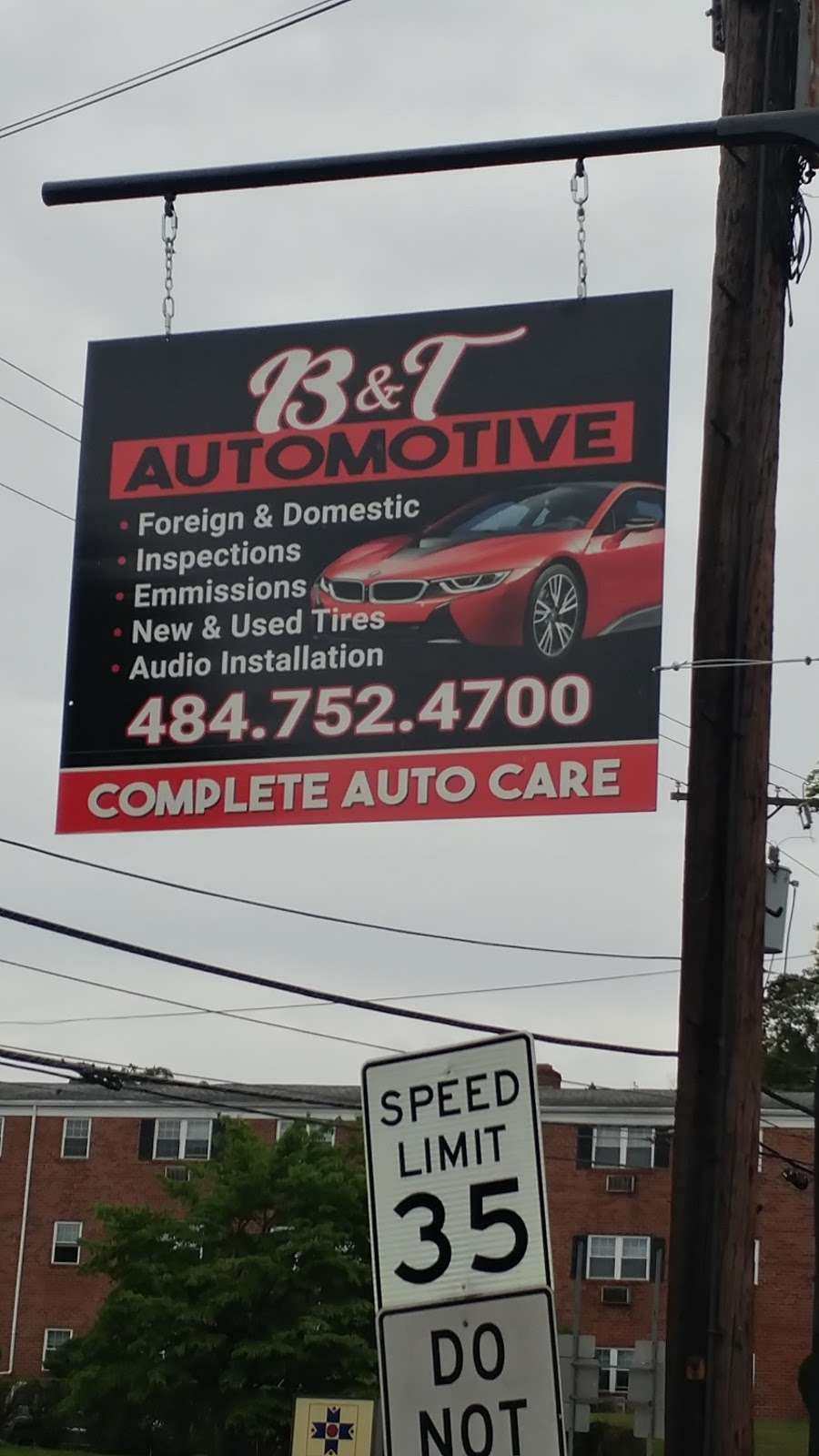 B&T Automotive - car repair    Photo 2 of 2   Address: Pottstown, PA 19465, USA   Phone: (484) 752-4700