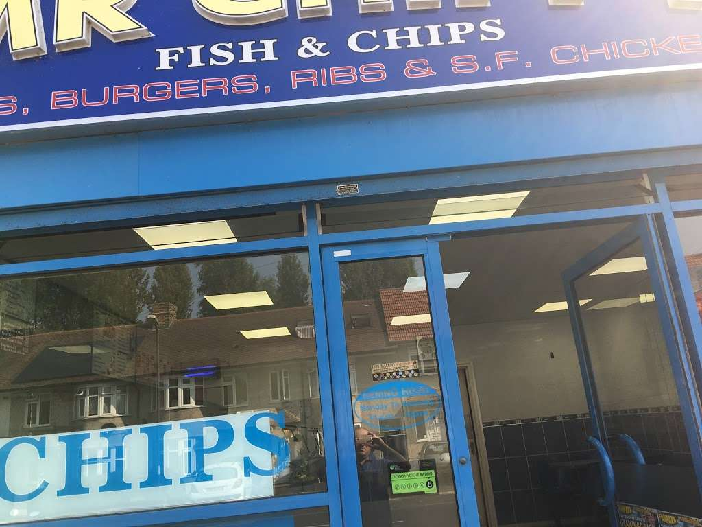 Mr chippy - meal takeaway    Photo 9 of 10   Address: 8 Crays Parade Main Road, Orpington, Orpington kent BR5 3HG, UK   Phone: 01689 820032