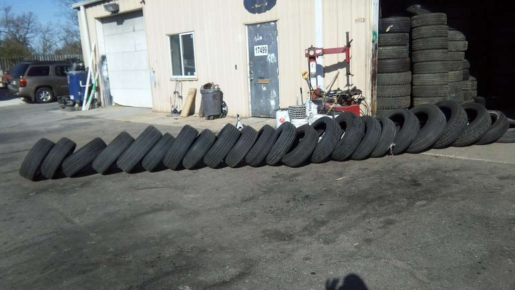 Used And New Tires Erasmo Pena - car repair  | Photo 5 of 10 | Address: 17499 Old Stage Coach Rd, Dumfries, VA 22026, USA | Phone: (571) 205-9575