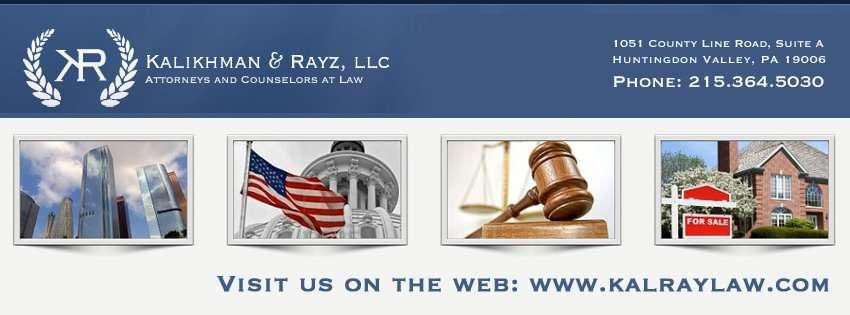 Kalikhman & Rayz, LLC - lawyer  | Photo 1 of 2 | Address: 1051 County Line Rd suite a, Huntingdon Valley, PA 19006, USA | Phone: (215) 792-2963