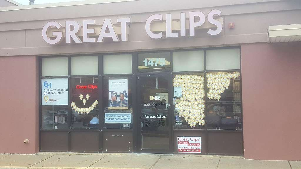 Great Clips - hair care  | Photo 1 of 9 | Address: 1475 Old York Rd, Abington, PA 19001, USA | Phone: (215) 881-9570