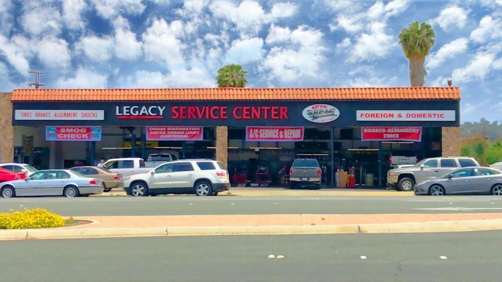 Legacy Auto Care - car repair    Photo 1 of 9   Address: 661 El Cajon Blvd, El Cajon, CA 92020, USA   Phone: (619) 444-2175