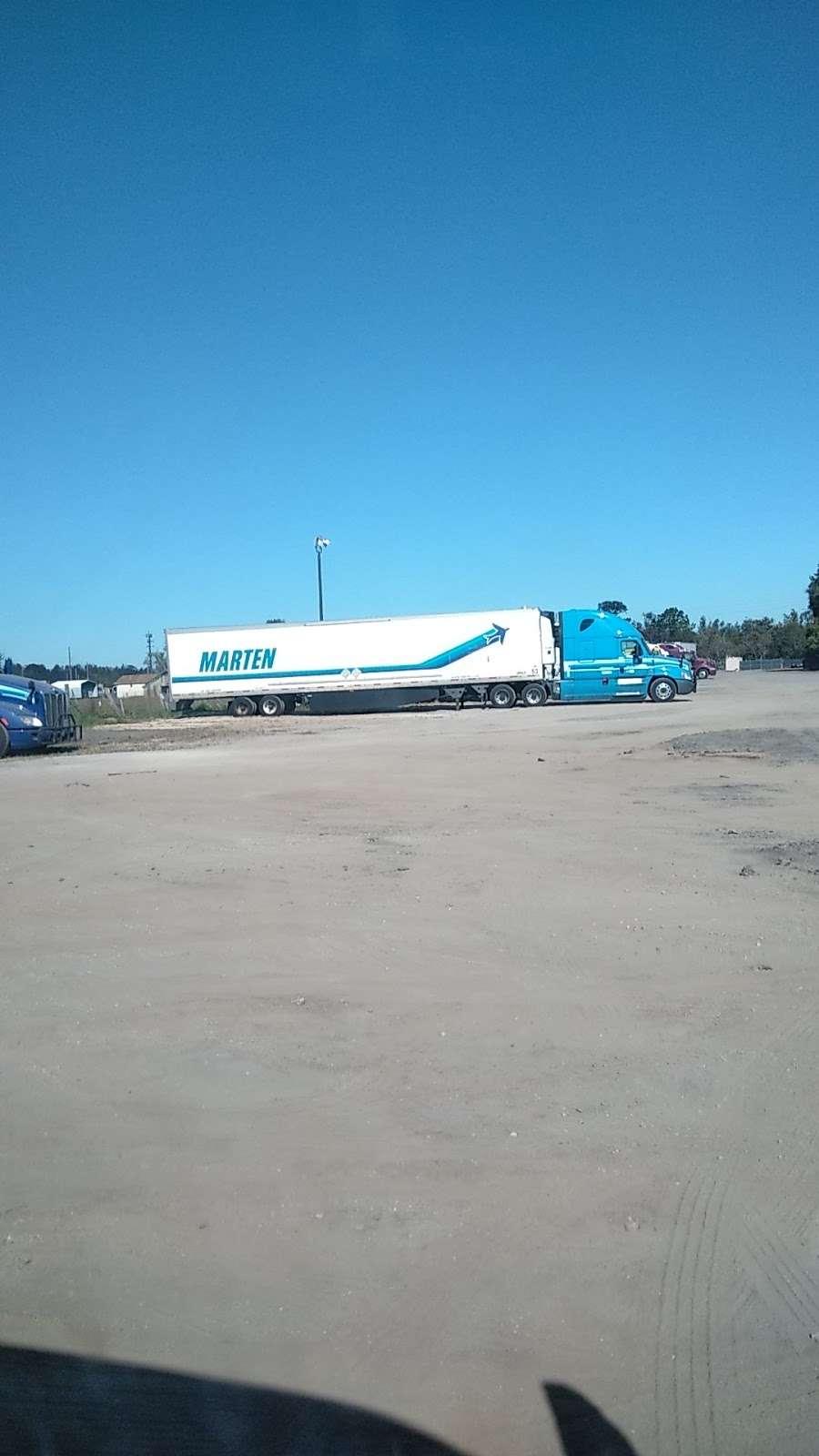 Marten Transport drop yard - moving company  | Photo 1 of 1 | Address: 11699 Airport Park Dr, Orlando, FL 32824, USA
