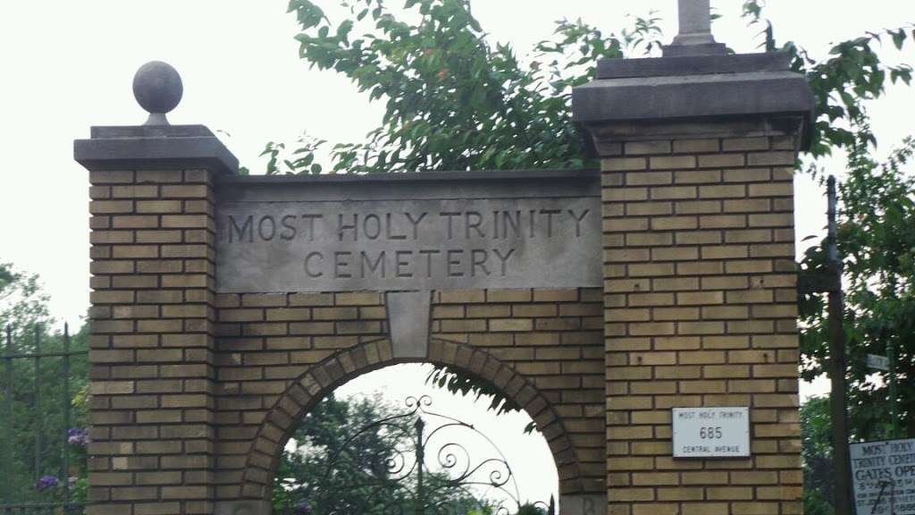 Most Holy Trinity Cemetery - cemetery  | Photo 1 of 2 | Address: 685 Central Ave, Brooklyn, NY 11207, USA | Phone: (718) 894-4888
