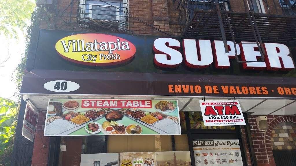 Villatapia Super Market - supermarket  | Photo 2 of 2 | Address: 40 Nostrand Ave, Brooklyn, NY 11205, USA