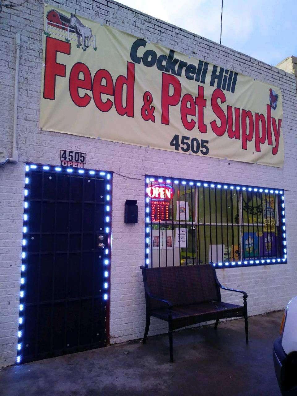 Cockrell Hill Feed & Pet Supply - store  | Photo 1 of 1 | Address: 4505 W Jefferson Blvd, Dallas, TX 75211, USA | Phone: (214) 646-4520