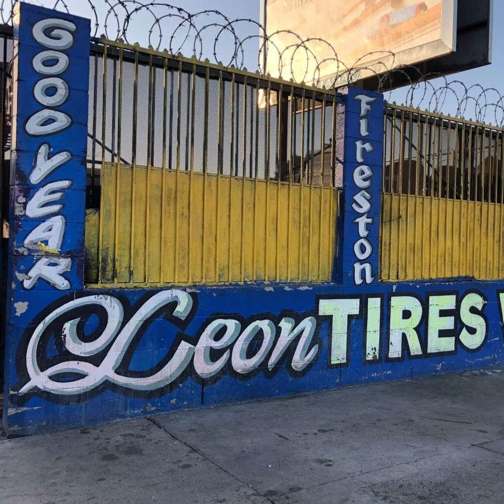 Leon Tires & Wheels - car repair  | Photo 1 of 10 | Address: 8431 S Main St, Los Angeles, CA 90003, USA | Phone: (323) 456-5405