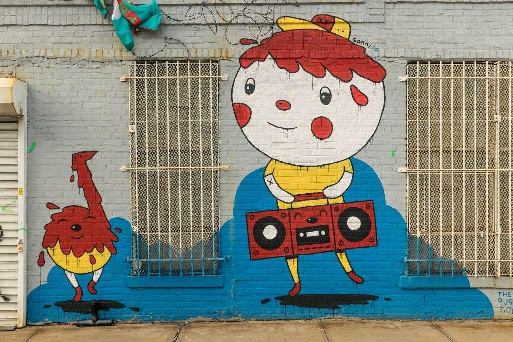 The Bushwick Collective - art gallery  | Photo 8 of 10 | Address: St Nicholas Ave, Brooklyn, NY 11237, USA