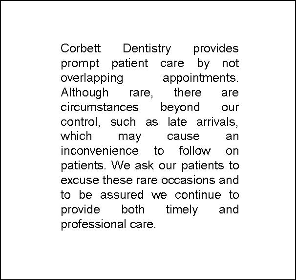 Corbett Dentistry - dentist    Photo 3 of 3   Address: 6800 Windhaven Pkwy #135, The Colony, TX 75056, USA   Phone: (972) 306-0743