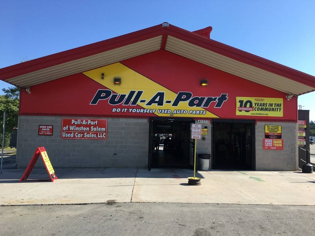 Pull-A-Part - car repair  | Photo 1 of 10 | Address: 4125 N Patterson Ave, Winston-Salem, NC 27105, USA | Phone: (336) 661-1110