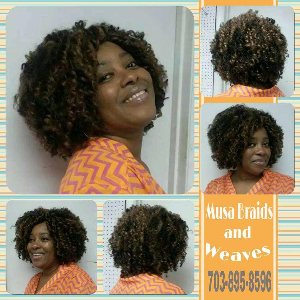 Musa Braids and Weaves - hair care    Photo 4 of 10   Address: 7222 Nathan Ct, Manassas, VA 20109, USA   Phone: (703) 361-8282