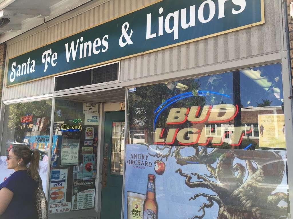 Santa Fe Wines & Liquors - store  | Photo 2 of 2 | Address: 74 W Main St, Bogota, NJ 07603, USA | Phone: (201) 646-0407