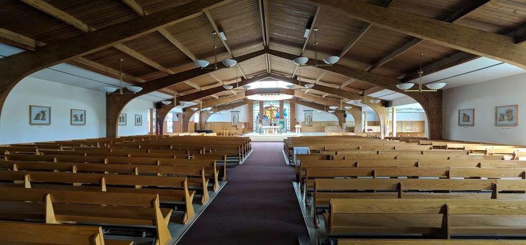 Saint Alphonsus Catholic Church - church  | Photo 5 of 10 | Address: 33 Conwell Dr, Maple Glen, PA 19002, USA | Phone: (215) 646-4600