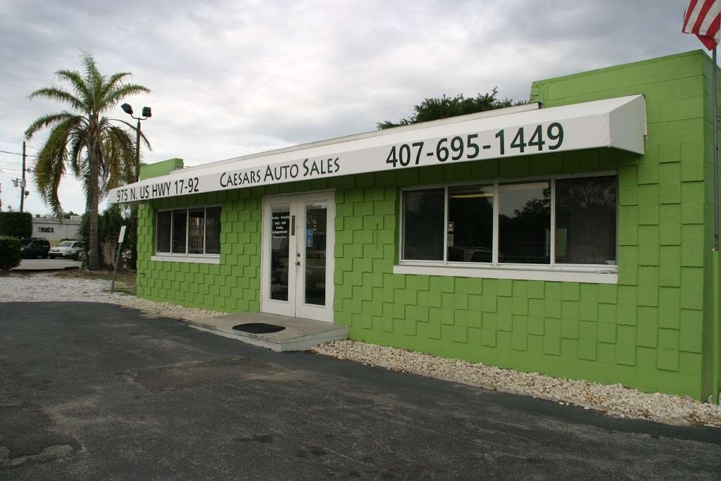 Caesars Auto Sales - car dealer    Photo 1 of 10   Address: 975 N US Hwy 17 92, Longwood, FL 32750, USA   Phone: (407) 695-1449