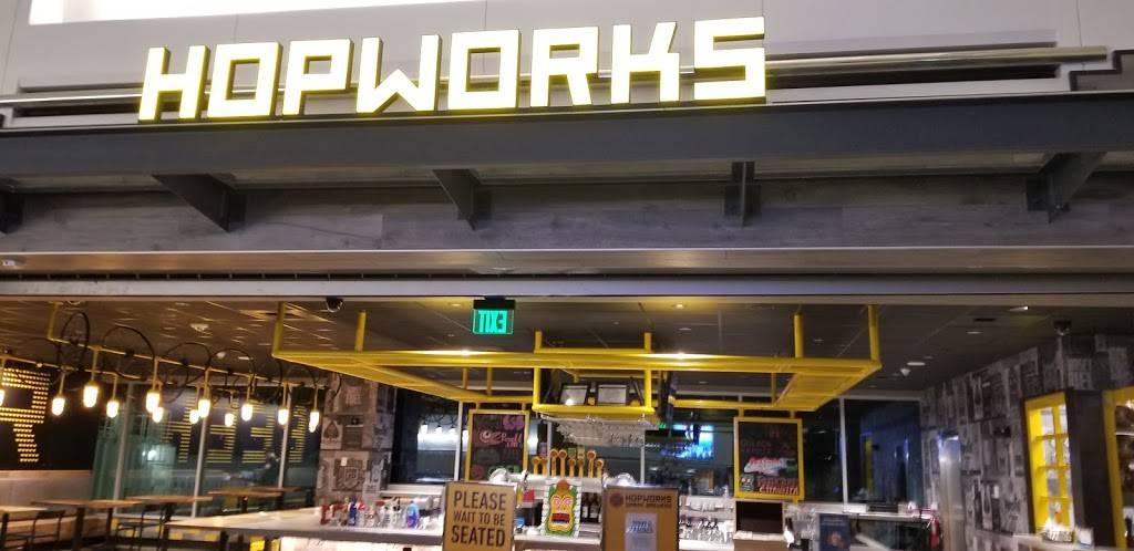 Hopworks Urban Brewery - restaurant  | Photo 6 of 8 | Address: PDX AIRPORT 7000 NE Airport Way, Concourse E, Portland, OR 97218, USA | Phone: (571) 982-0358