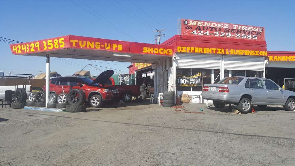 Mendez Tires And Auto Service - car repair  | Photo 1 of 10 | Address: 541 E Redondo Beach Blvd, Gardena, CA 90248, USA | Phone: (424) 329-3585