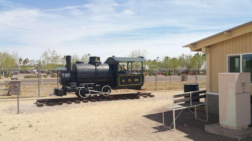 Adobe Mountain Train Museum - museum  | Photo 7 of 10 | Address: 23280 N 43rd Ave, Glendale, AZ 85310, USA | Phone: (623) 252-6871