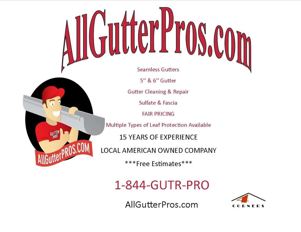 All Gutter Pros (4 Corners Contracting, LLC) - roofing contractor  | Photo 8 of 8 | Address: 11033 Lincoln Ave, Hagerstown, MD 21740, USA | Phone: (301) 800-7687