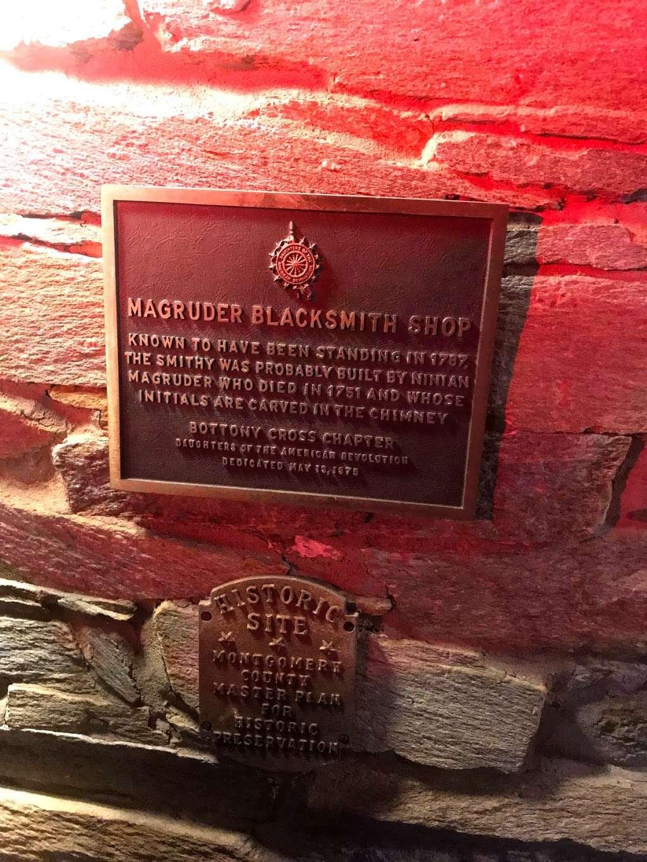 Magruder Blacksmith Shop Est. 1787 - museum  | Photo 1 of 3 | Address: 7835 River Rd, Bethesda, MD 20817, USA
