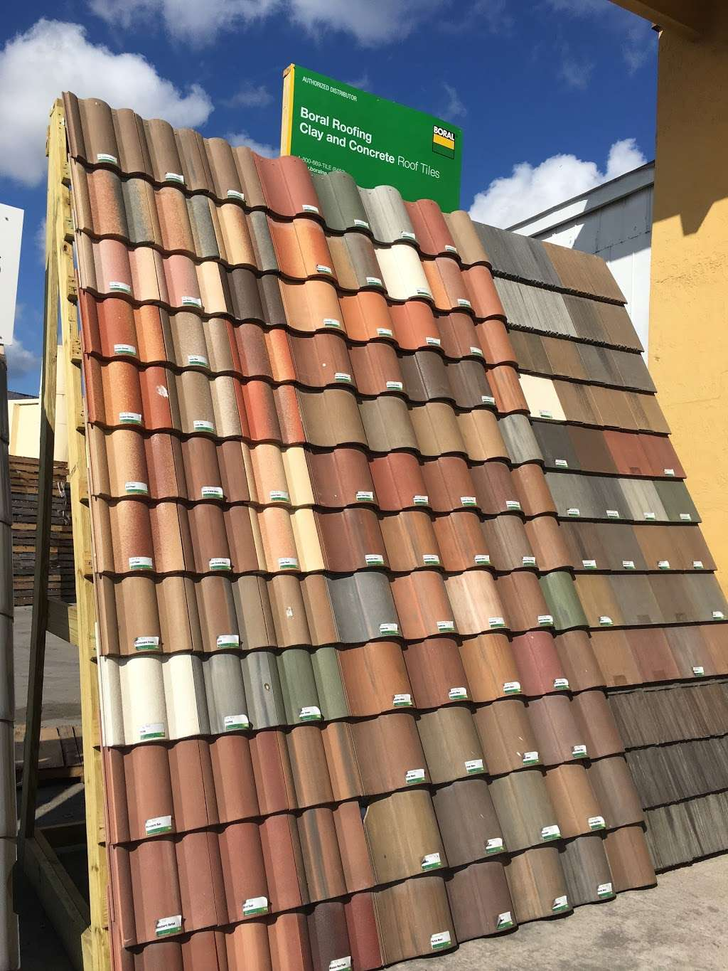 Mediterranean Roof Tiles - store    Photo 4 of 10   Address: 9060 NW 97th Terrace, Medley, FL 33178, USA   Phone: (305) 887-7055