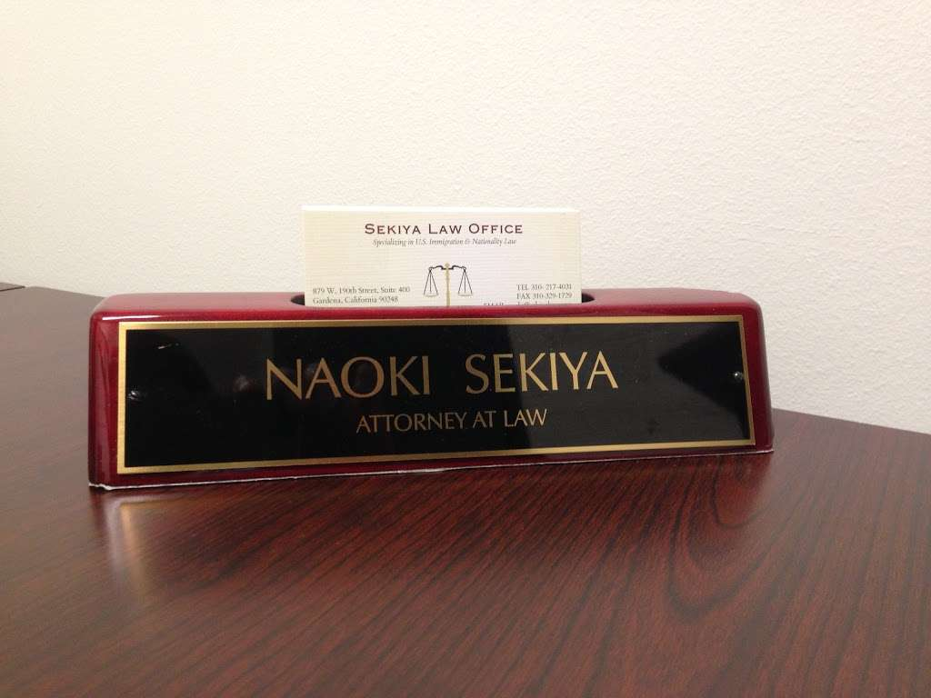 Sekiya Law Office (関谷法律事務所) - lawyer  | Photo 3 of 6 | Address: 2340 Plaza del Amo Suite 240, Torrance, CA 90501, USA | Phone: (424) 999-5420