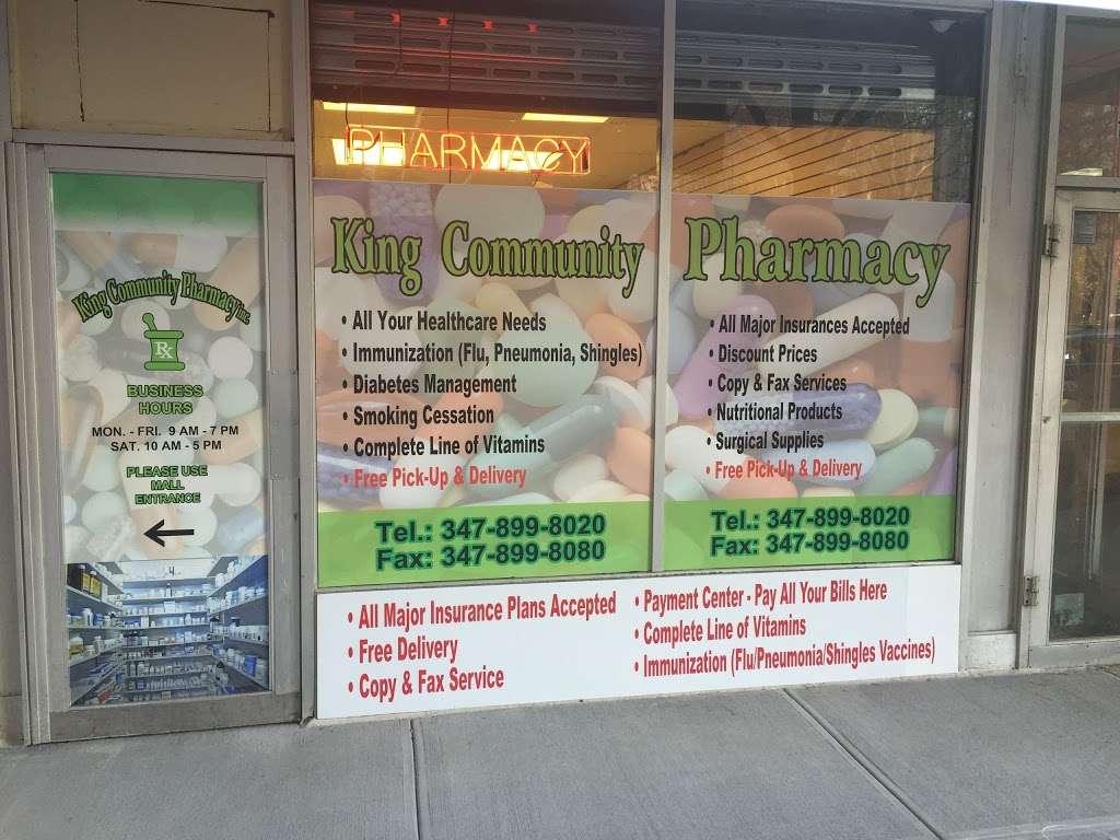 King Community Pharmacy Inc. - pharmacy  | Photo 1 of 3 | Address: 161 Dreiser Loop, Bronx, NY 10475, USA | Phone: (347) 899-8020