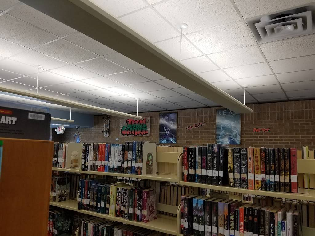 Schimelpfenig Library - library    Photo 3 of 9   Address: 5024 Custer Rd, Plano, TX 75023, USA   Phone: (972) 769-4200