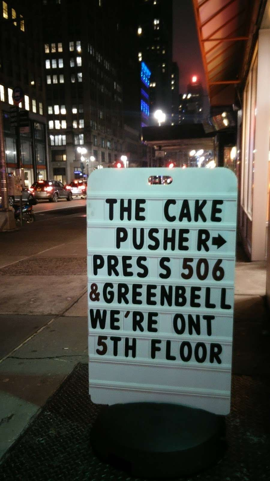 The Cake Pusher - bakery  | Photo 5 of 10 | Address: 53 E 34th St #506, New York, NY 10016, USA | Phone: (347) 627-0222