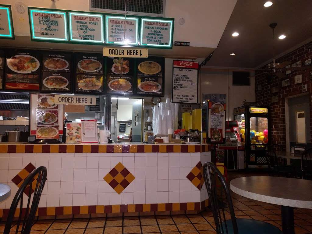 Sams Burgers - restaurant    Photo 1 of 10   Address: 8505 Telegraph Rd, Pico Rivera, CA 90660, USA   Phone: (562) 869-1482