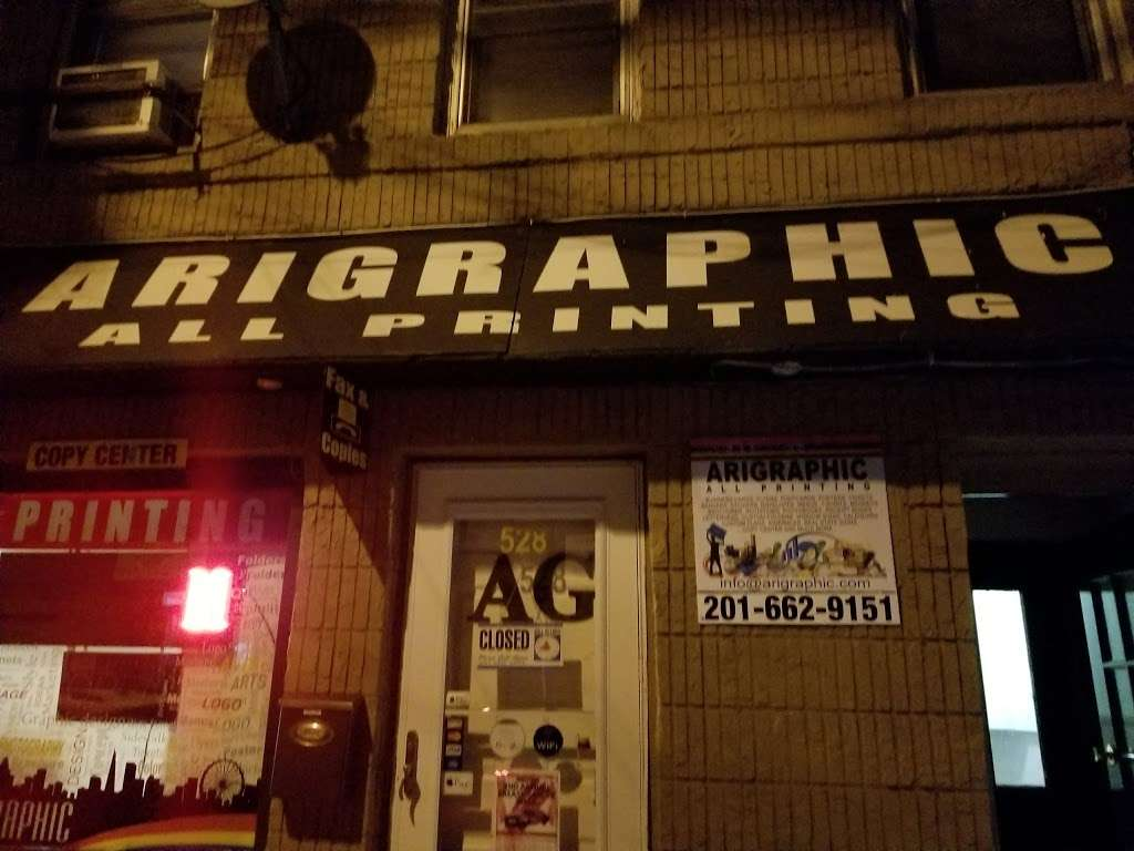Arigraphic all Printing - store  | Photo 5 of 10 | Address: 528 70th St, Guttenberg, NJ 07093, USA | Phone: (201) 662-9151