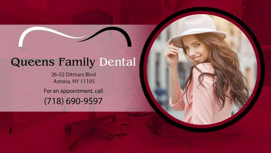 Queens Family Dental - dentist  | Photo 1 of 3 | Address: 26-02 Ditmars Blvd, Astoria, NY 11105, USA | Phone: (718) 690-9597