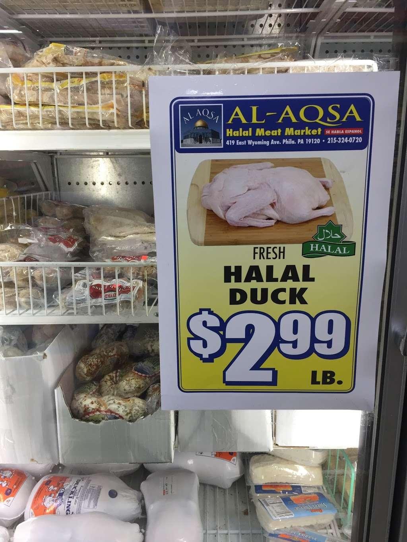 Alaqsa Halal Meats & Groceries - store  | Photo 9 of 10 | Address: 419 E Wyoming Ave, Philadelphia, PA 19120, USA | Phone: (215) 324-0720