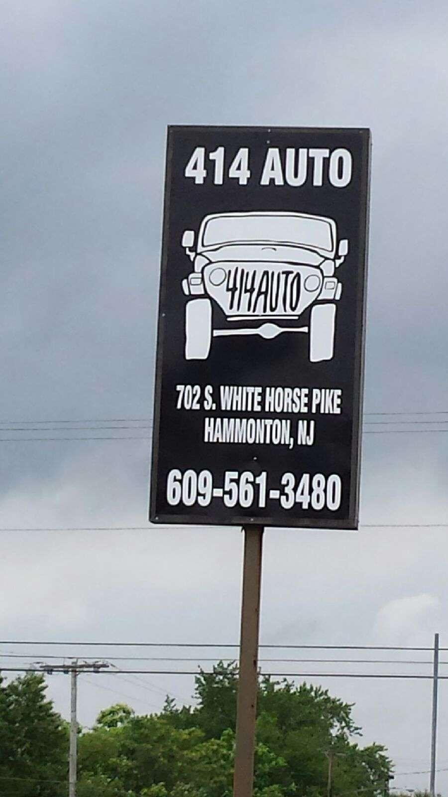 414 Auto - car dealer    Photo 4 of 4   Address: 702 White Horse Pike, Hammonton, NJ 08037, USA   Phone: (609) 561-3480