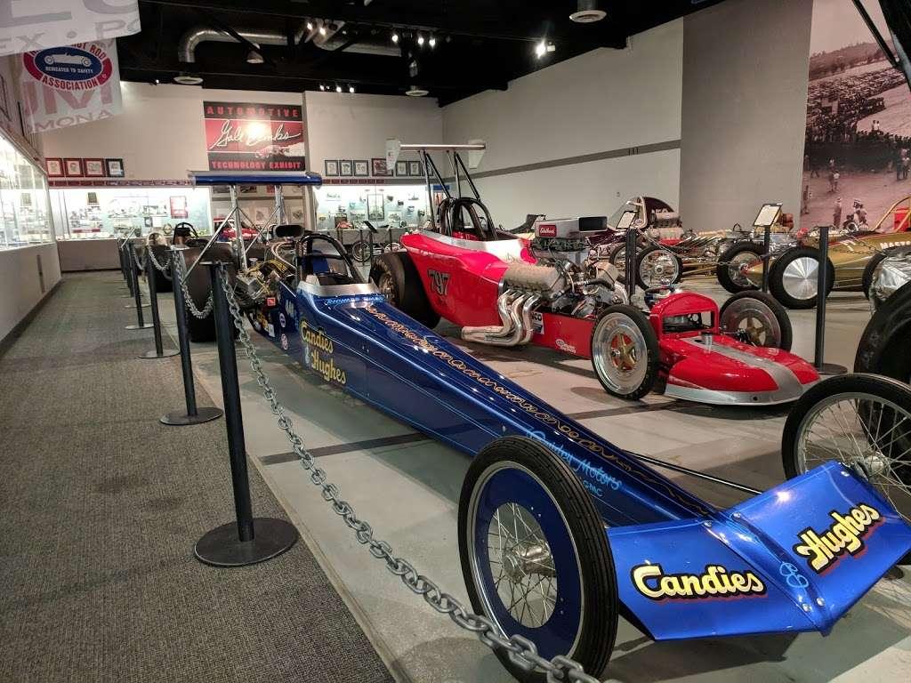 NHRA Motorsports Museum | 1101 W McKinley Ave, Pomona, CA
