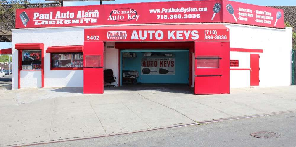 Paul Auto Alarm & Locksmith - locksmith  | Photo 1 of 2 | Address: 54-02 Broadway, Woodside, NY 11377, USA | Phone: (718) 396-3836