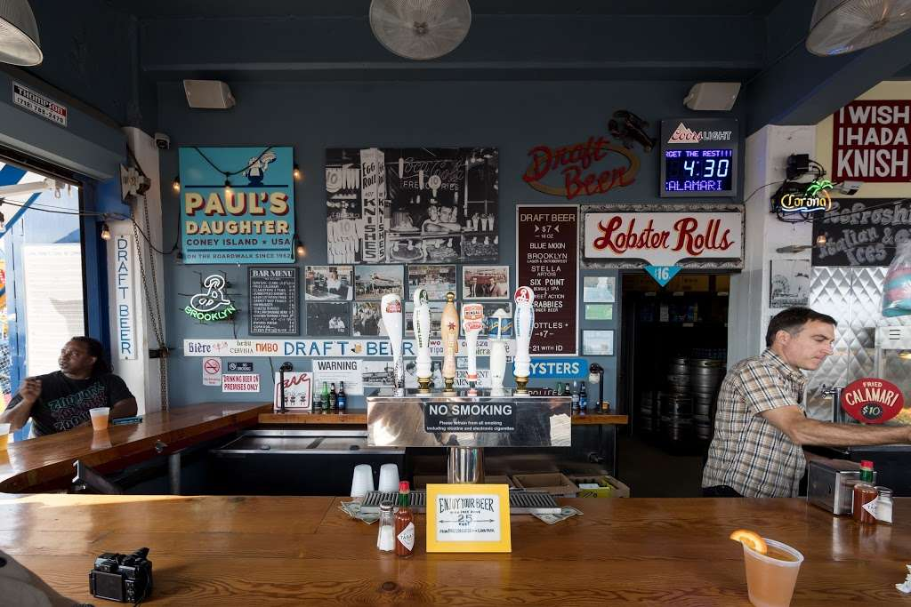 Paul's Daughter - restaurant  | Photo 1 of 10 | Address: 1001 Riegelmann Boardwalk, Brooklyn, NY 11224, USA | Phone: (718) 449-4252