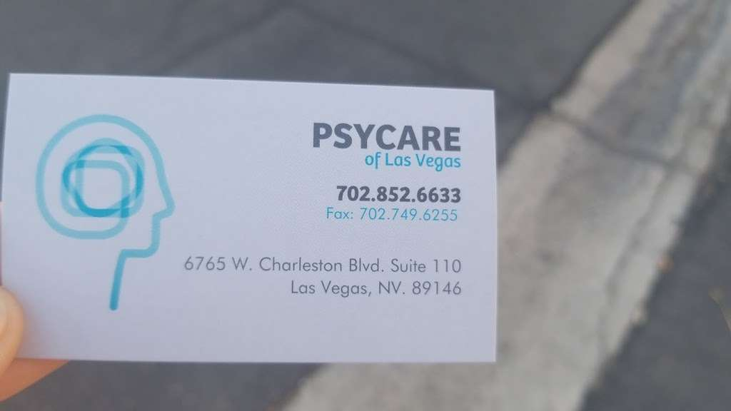 PsyCare - doctor  | Photo 4 of 4 | Address: 6765 W Charleston Blvd Ste 110, Las Vegas, NV 89146, USA | Phone: (702) 852-6633