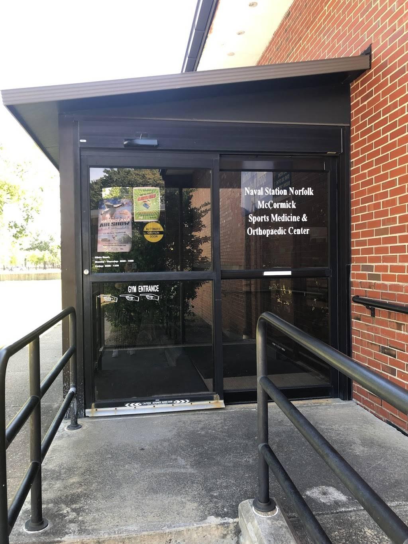 Sports Medicine Clinic - hospital  | Photo 3 of 4 | Address: Naval Station CEP 58, Norfolk, VA 23505, USA | Phone: (757) 445-1394