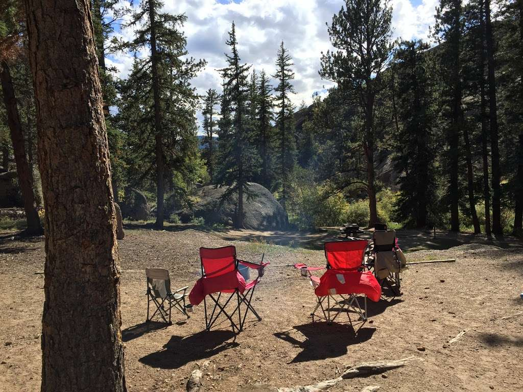 Spruce Grove Campground - campground  | Photo 10 of 10 | Address: Co Rd 77, Lake George, CO 80827, USA | Phone: (719) 836-2031