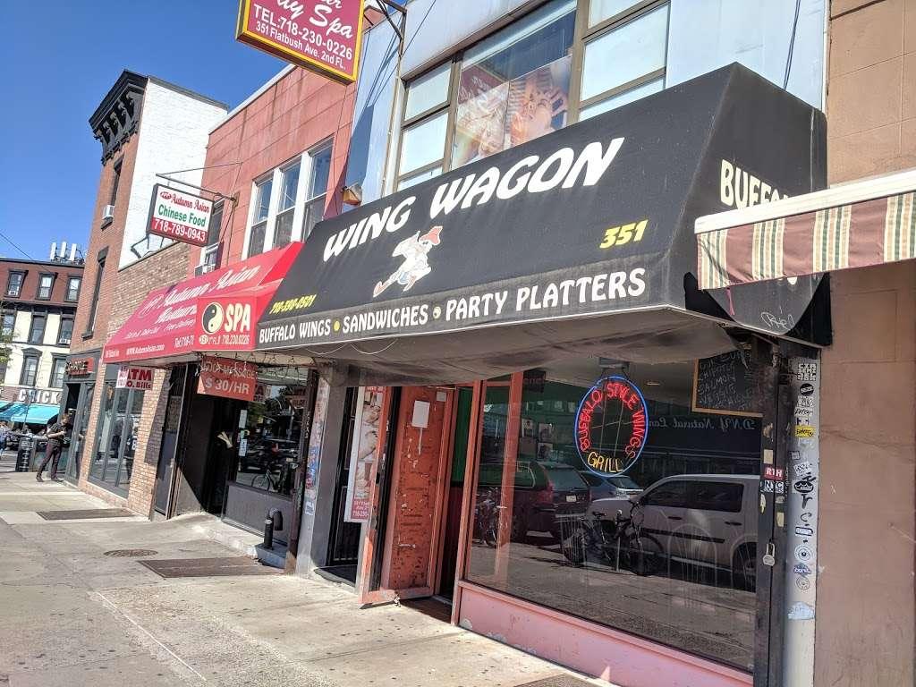 Wing Wagon - restaurant  | Photo 2 of 7 | Address: 351 Flatbush Ave, Brooklyn, NY 11238, USA | Phone: (718) 398-0501