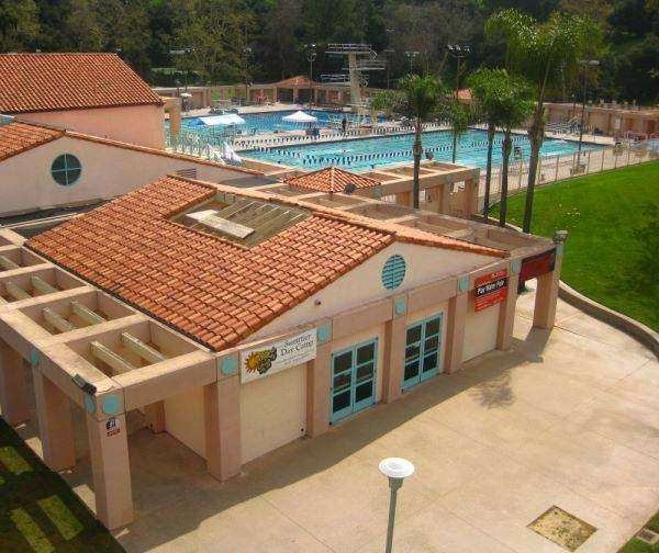 Rose Bowl Aquatics Center - health    Photo 2 of 10   Address: 360 N Arroyo Blvd, Pasadena, CA 91103, USA   Phone: (626) 564-0330