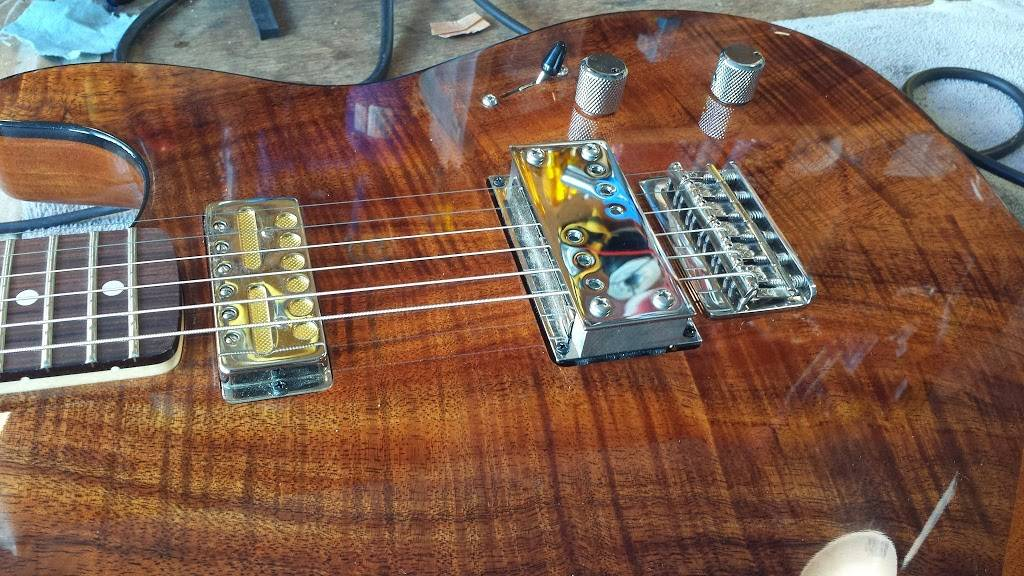 Sick String Guitar Repair - electronics store  | Photo 2 of 9 | Address: 8729 N Delaware Ave, Portland, OR 97217, USA | Phone: (971) 930-4133