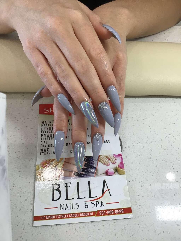 Bella Nails & Spa - shopping mall  | Photo 10 of 10 | Address: 110 Market St, Saddle Brook, NJ 07663, USA | Phone: (201) 909-8599